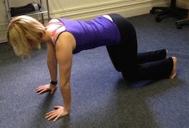 Pilates excercise