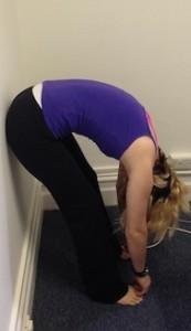 Pilates roll down 4